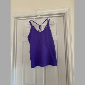 Athleta strappy tank top